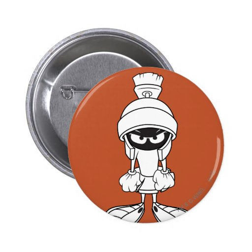 MARVIN THE MARTIAN™ Mad at You 6 Cm Round Badge