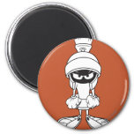 MARVIN THE MARTIAN™ Mad at You 6 Cm Round Magnet