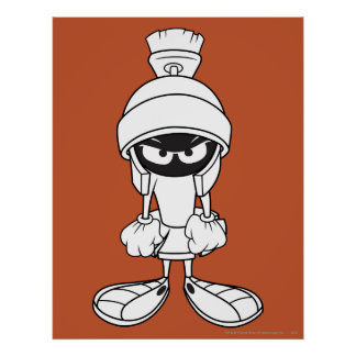 MARVIN THE MARTIAN™ Mad at You Poster