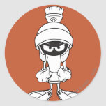 MARVIN THE MARTIAN™ Mad at You Round Sticker