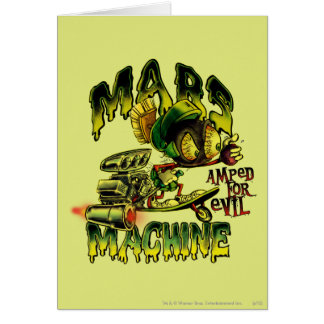 MARVIN THE MARTIAN™ Mars Machine Greeting Card