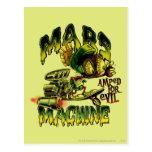 MARVIN THE MARTIAN™ Mars Machine Postcard