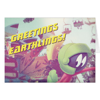 MARVIN THE MARTIAN™ On Vacation Card