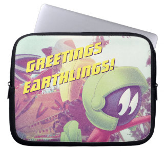 MARVIN THE MARTIAN™ On Vacation Laptop Sleeve