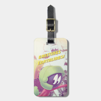 MARVIN THE MARTIAN™ On Vacation Luggage Tag
