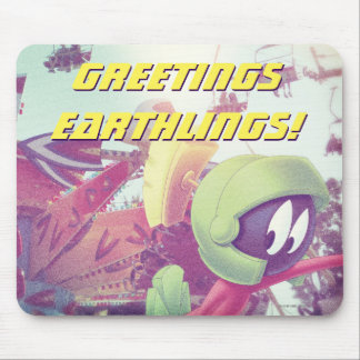 MARVIN THE MARTIAN™ On Vacation Mouse Mat