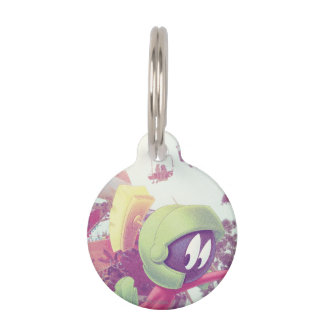 MARVIN THE MARTIAN™ On Vacation Pet Tag
