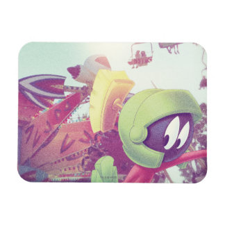 MARVIN THE MARTIAN™ On Vacation Rectangular Photo Magnet