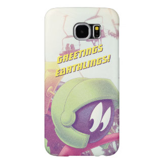 MARVIN THE MARTIAN™ On Vacation Samsung Galaxy S6 Cases