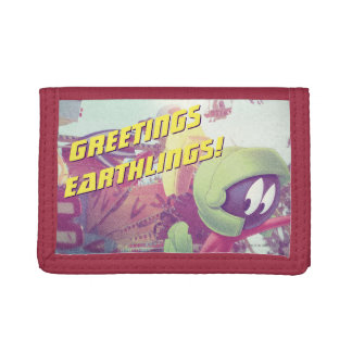 MARVIN THE MARTIAN™ On Vacation Tri-fold Wallets