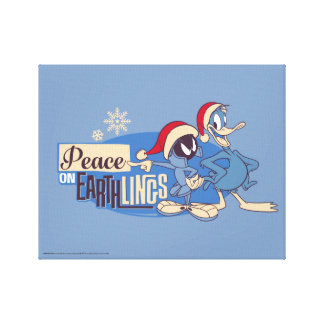MARVIN THE MARTIAN™- Peace On Earthlings Canvas Print