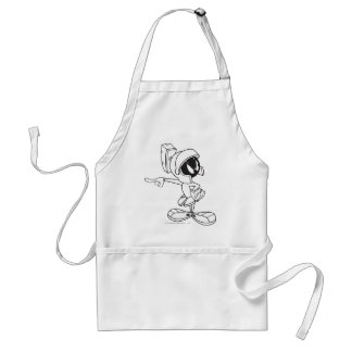 MARVIN THE MARTIAN™ Pointing Standard Apron