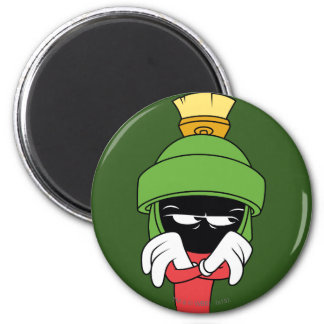 MARVIN THE MARTIAN™ Pout 6 Cm Round Magnet