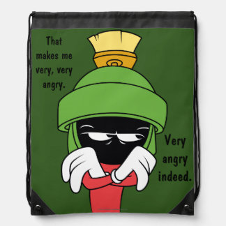 MARVIN THE MARTIAN™ Pout Drawstring Bag