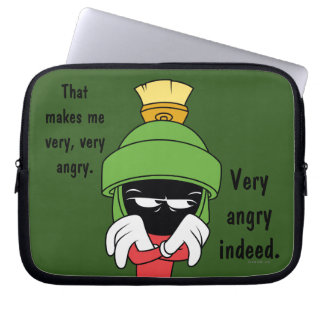 MARVIN THE MARTIAN™ Pout Laptop Computer Sleeve