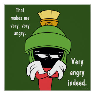 MARVIN THE MARTIAN™ Pout Poster