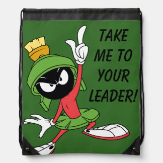 MARVIN THE MARTIAN™ Proclamation Drawstring Bag