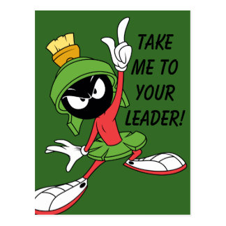 MARVIN THE MARTIAN™ Proclamation Postcard