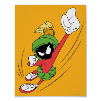 MARVIN THE MARTIAN™ Punch Poster