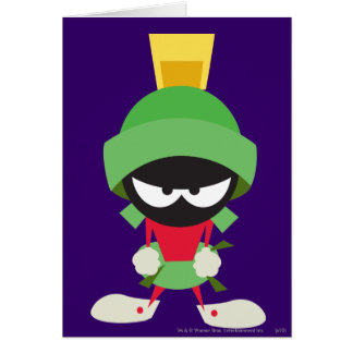 MARVIN THE MARTIAN™ Ready to Attack Card