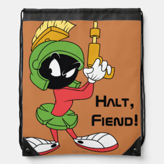 MARVIN THE MARTIAN™ Ready With Laser Drawstring Bag