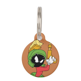 MARVIN THE MARTIAN™ Ready With Laser Pet ID Tags