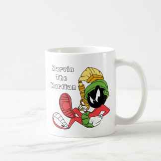 MARVIN THE MARTIAN™ Reclining With Laser Coffee Mug