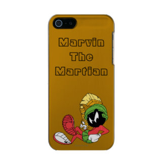 MARVIN THE MARTIAN™ Reclining With Laser Incipio Feather® Shine iPhone 5 Case