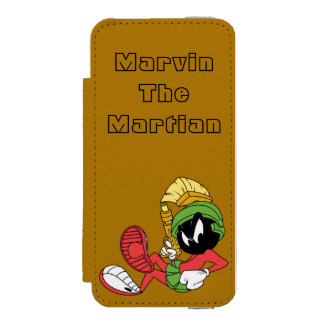MARVIN THE MARTIAN™ Reclining With Laser Incipio Watson™ iPhone 5 Wallet Case