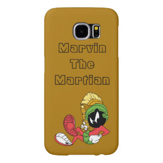 MARVIN THE MARTIAN™ Reclining With Laser Samsung Galaxy S6 Cases