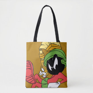 MARVIN THE MARTIAN™ Reclining With Laser Tote Bag