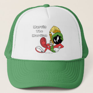 MARVIN THE MARTIAN™ Reclining With Laser Trucker Hat
