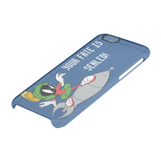 MARVIN THE MARTIAN™ Riding Rocket Clear iPhone 6/6S Case