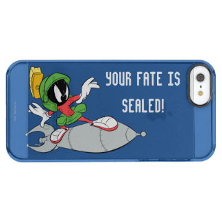MARVIN THE MARTIAN™ Riding Rocket Clear iPhone SE/5/5s Case