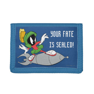 MARVIN THE MARTIAN™ Riding Rocket Trifold Wallet