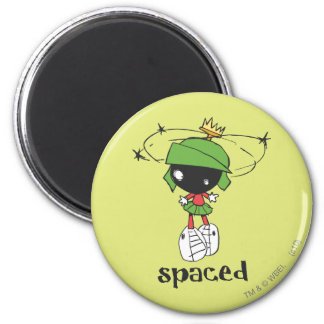 MARVIN THE MARTIAN™ Spaced 6 Cm Round Magnet