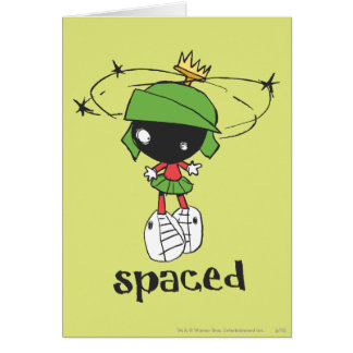MARVIN THE MARTIAN™ Spaced Card