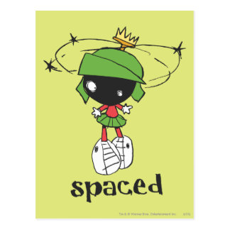 MARVIN THE MARTIAN™ Spaced Postcard