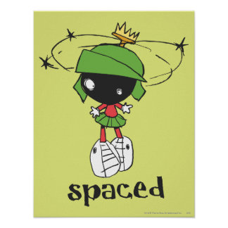 MARVIN THE MARTIAN™ Spaced Poster