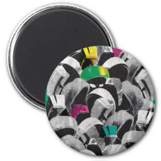 MARVIN THE MARTIAN™ Stacked 6 Cm Round Magnet