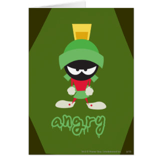 MARVIN THE MARTIAN™ Super Mad Card