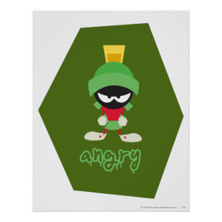 Marvin the Martian Super Mad Posters