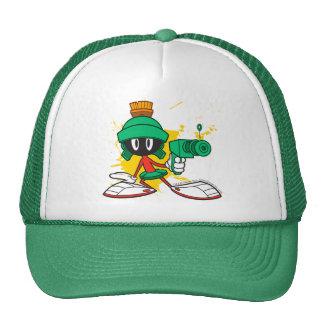 Marvin With Gun Cap