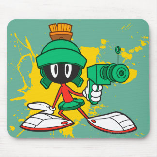 Marvin With Gun Mouse Mat