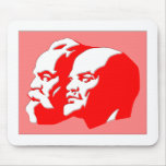 Marx And Lenin Mouse Mats