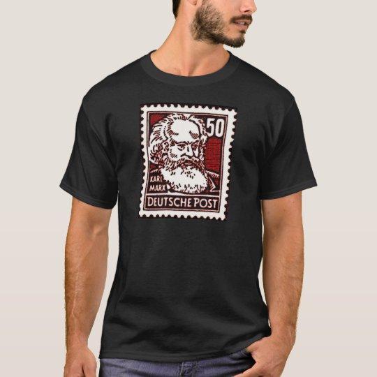 Marx DDR Stamp T-Shirt