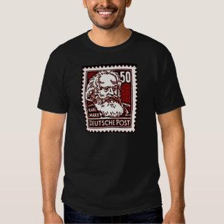 Marx DDR Stamp T Shirts