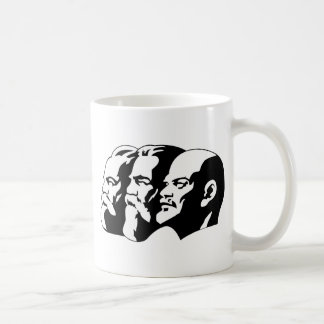 Marx, Engels and Lénin Coffee Mug