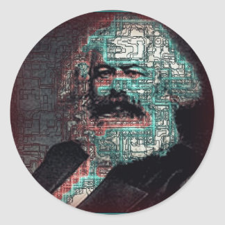 Marx Round Sticker