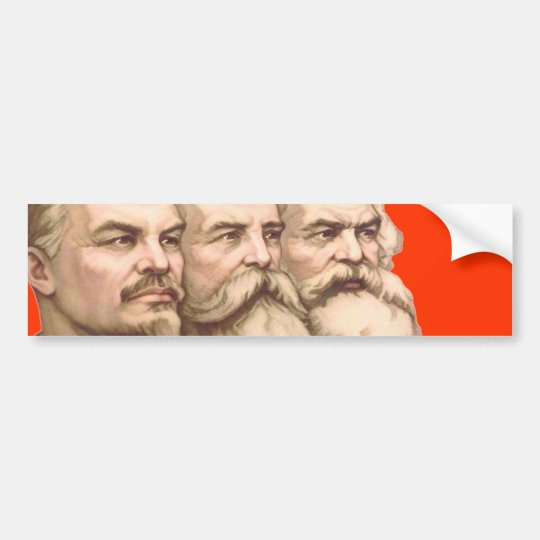 marxism bumper sticker